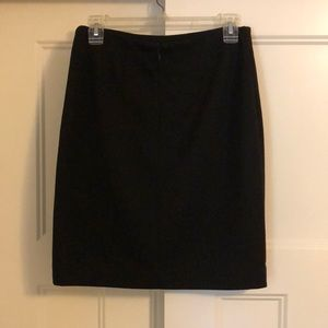 Black Anne Taylor business casual pencil skirt